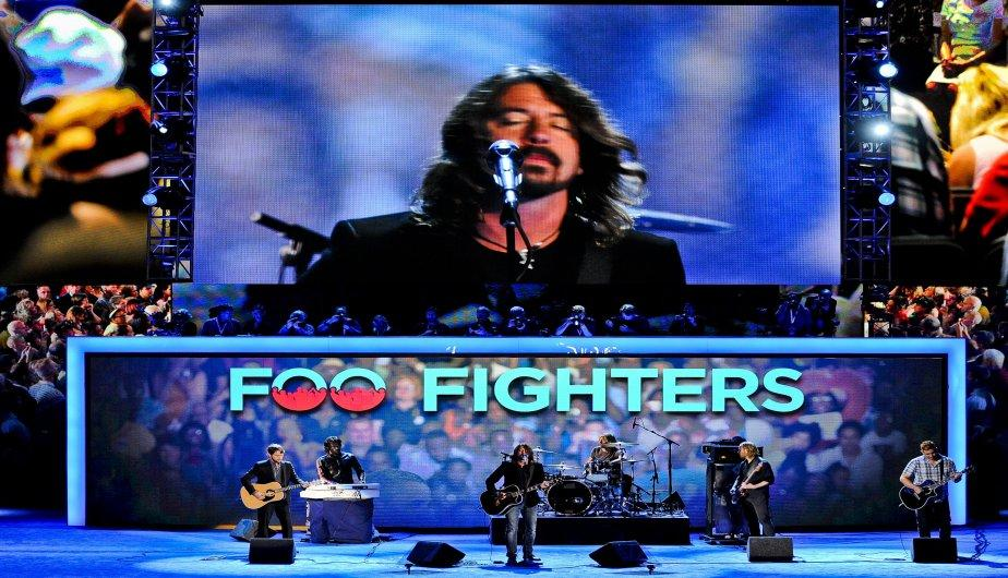 Desde Foo Fighters hasta Eva Longoria, las estrellas respaldaron a Obama (FOTOS)