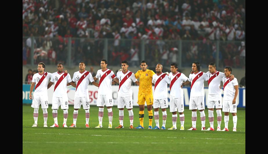 La selecci&oacute;n hizo vibrar a todo el Per&uacute; (FOTOS)