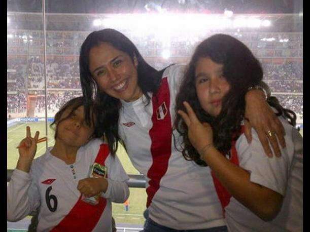 Nadine Heredia sobre triunfo de la selecci&oacute;n peruana: &iexcl;Buen trabajo muchachos!