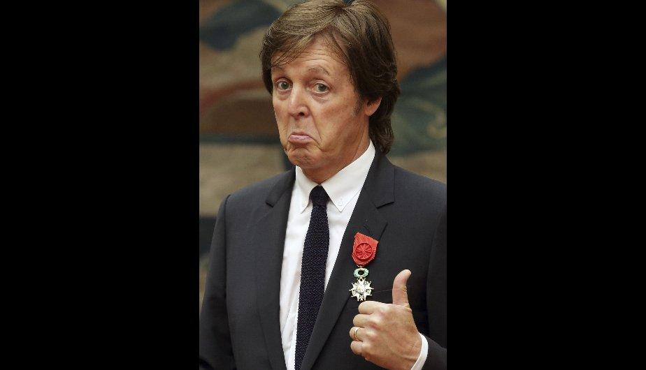 Paul McCartney es condecorado con la Legión de Honor francesa (FOTOS)