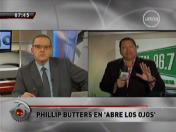 Beto Ortiz y Phillip Butters tuvieron intercambio de palabras al aire (VIDEO)