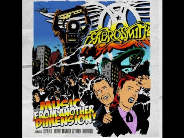 "Aerosmith lanza su nuevo álbum, ""Music from another dimension"""