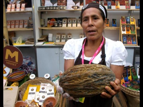 Rinc&oacute;n del Cacao y Chocolate muestra productos de diversas regiones del Per&uacute; 