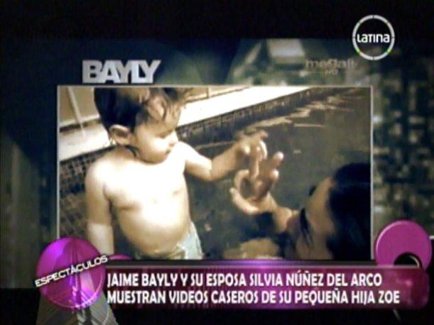 Hija de Jaime Bayly pronuncia sus primeras palabras...&iquest;en quechua? (VIDEO)