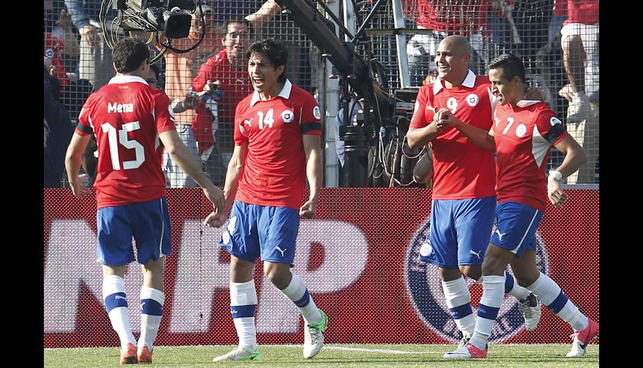Chile 1-3 Colombia, mira lo mejor del partido (FOTOS)