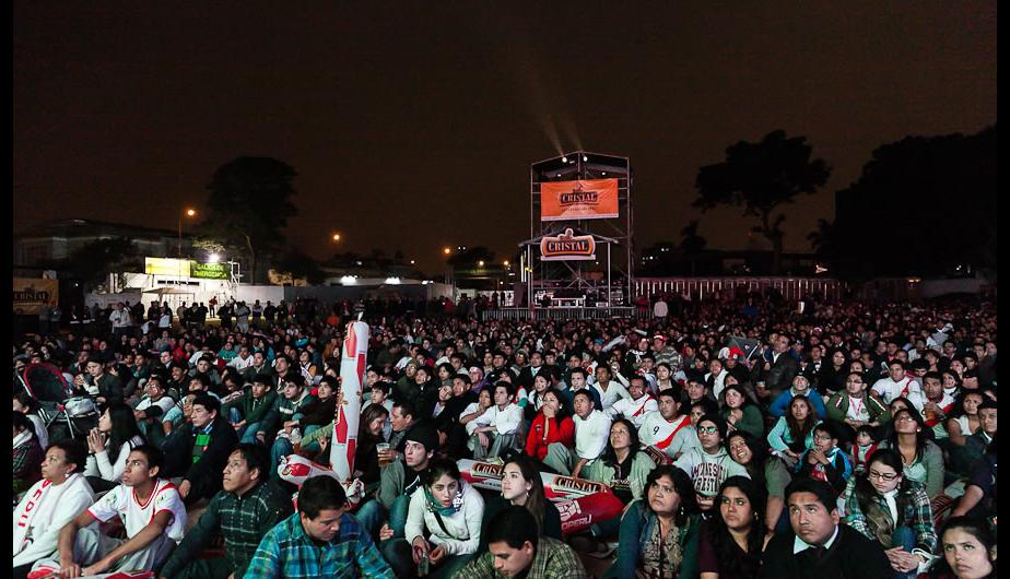 As&iacute; vivieron en Mistura el partido Per&uacute; vs. Argentina (FOTOS)