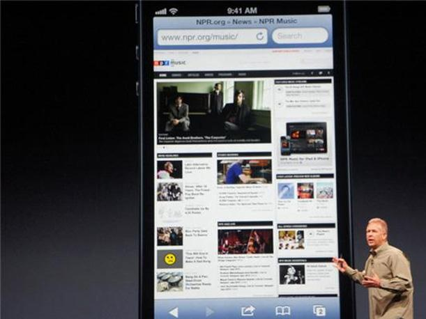 El iPhone 5 es presentado por Apple en San Francisco