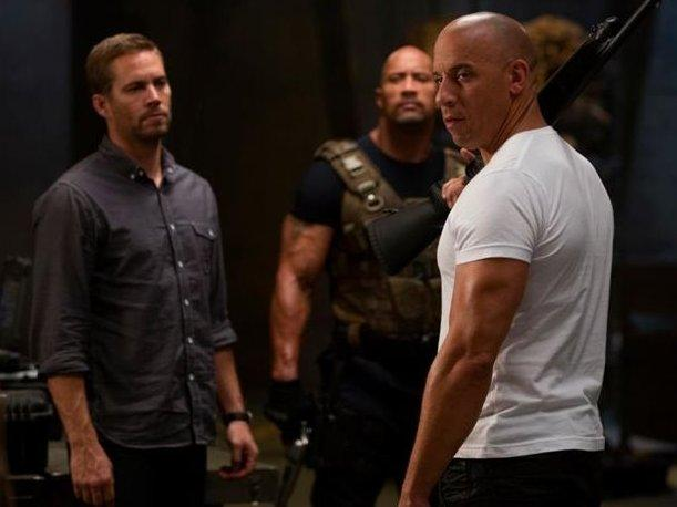 Primera imagen de Vin Diesel, Paul Walker y The Rock juntos en Fast & Furious 6