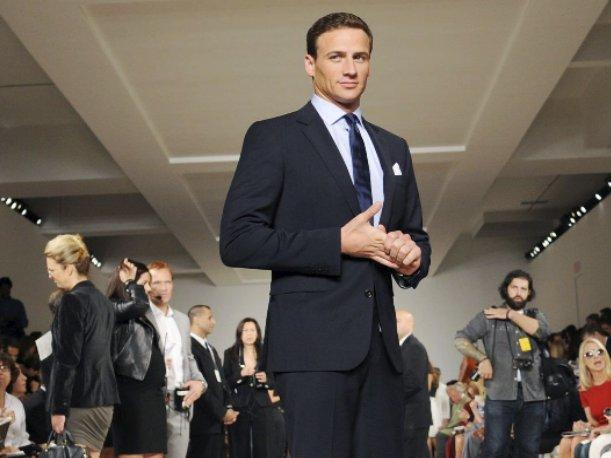 New York Fashion Week: Ryan Lochte asiste al desfile de Ralph Lauren