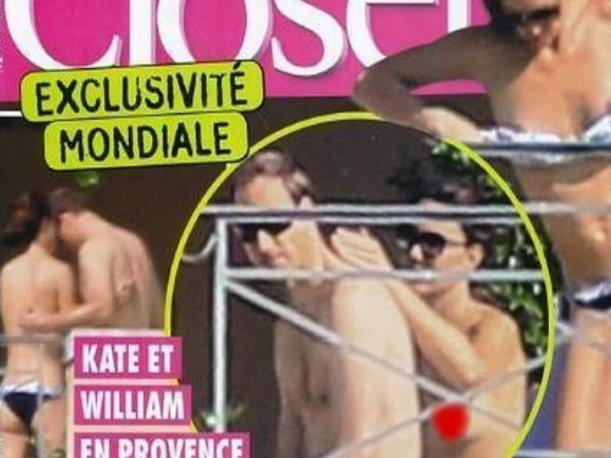 Revista francesa asegura tener fotos en topless de Kate Middleton