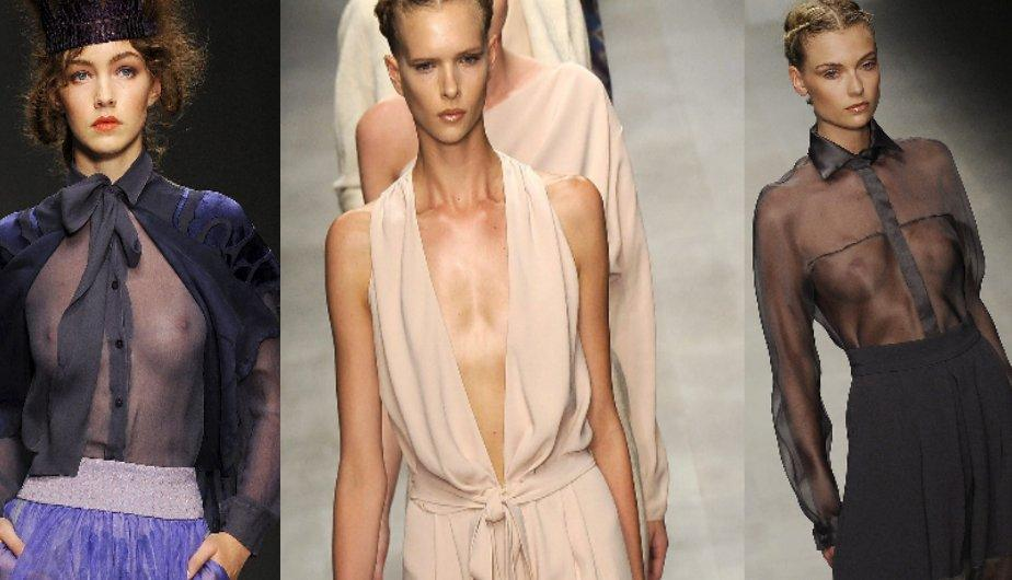 London Fashion Week 2012: Transparencias y atrevidos escotes paralizan Londres