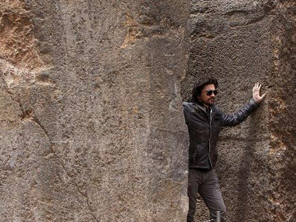 Juanes recorri&oacute; el parque arqueol&oacute;gico de Sacsayhuam&aacute;n