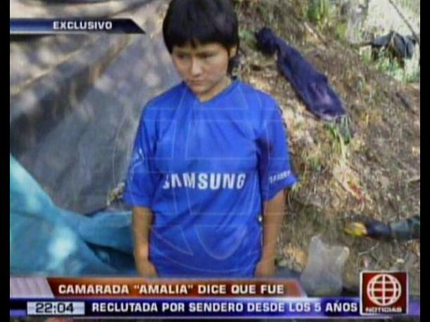 Camarada &lsquo;Amalia&rsquo; revela que fue reclutada por Sendero Luminoso desde los 5 a&ntilde;os (VIDEO)