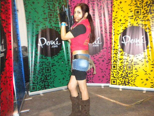 Pasarela Cosplay MásGamers Tech Festival 2012 - Claire Redfield