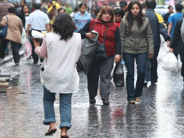 SENAMHI: Lloviznas y vientos volver&aacute;n a repetirse en Lima el martes y mi&eacute;rcoles
