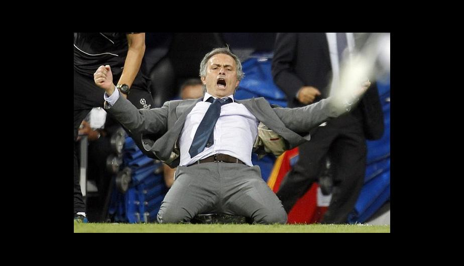 El show de José Mourinho en el Real Madrid vs. Manchester City (FOTOS)
