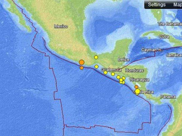 Sismo de 5,4 grados de magnitud remece la ciudad de M&eacute;xico
