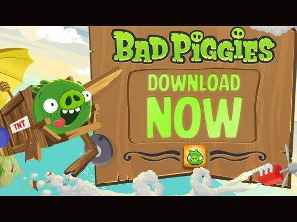 Ya está disponible Bad Piggies en iOS y Android