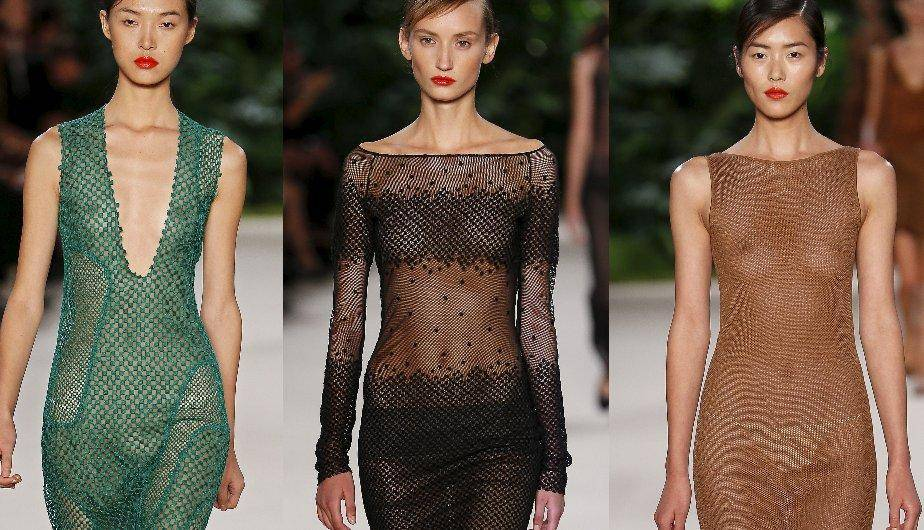 Paris Fashion Week: Las transparencias de Albert Kriemler dominaron la pasarela