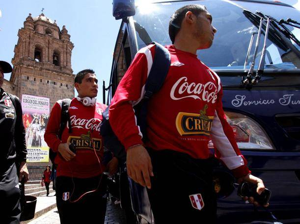 Seleccionados peruanos llegaron al Cusco