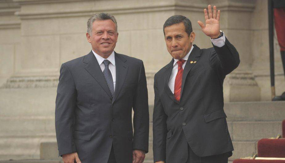 Entretelones de la reuni&oacute;n del Rey de Jordania con Ollanta Humala (FOTOS)