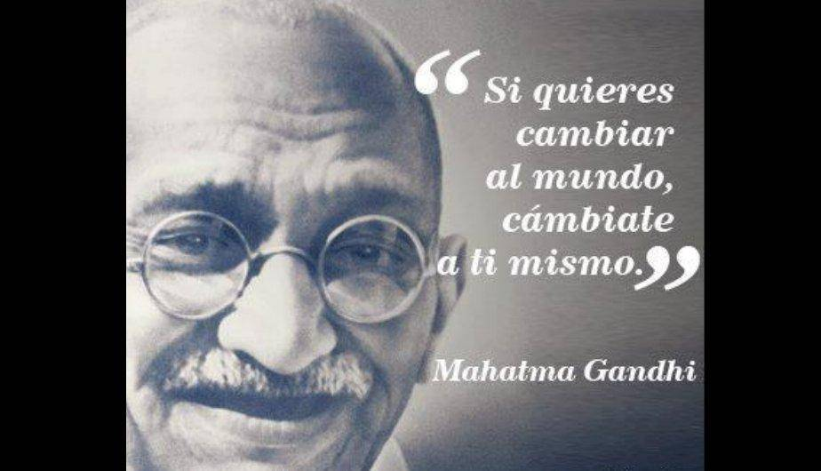 a reflection of the character of mahatma gandhi