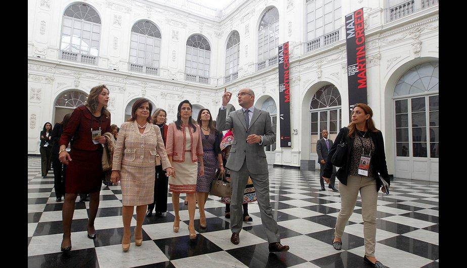 Vea el paseo de las esposas de mandatarios asistentes a la Cumbre ASPA en Lima (FOTOS)