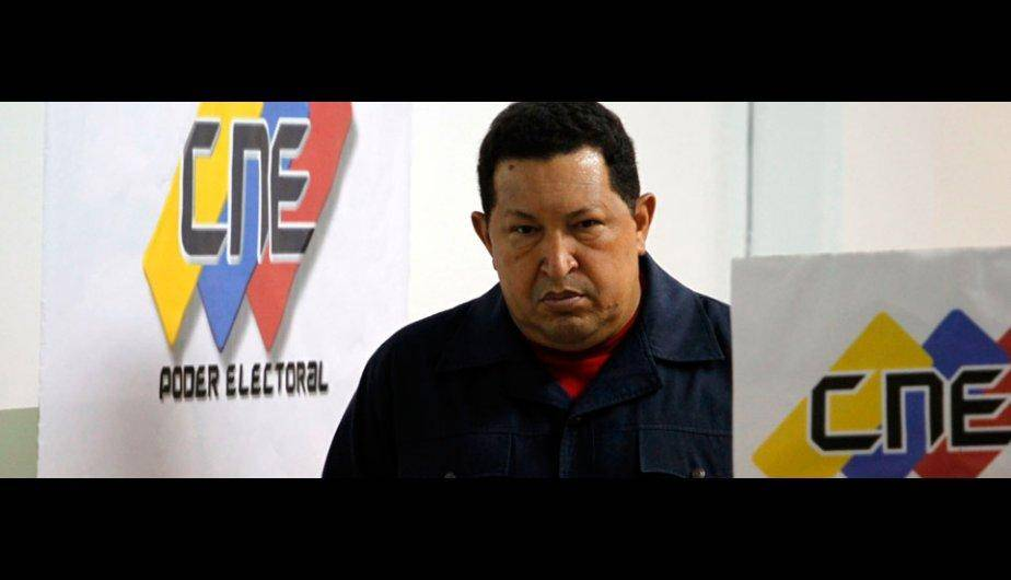 Elecciones Venezuela: As&iacute; emitieron su voto Hugo Ch&aacute;vez y Henrique Capriles (FOTOS)
