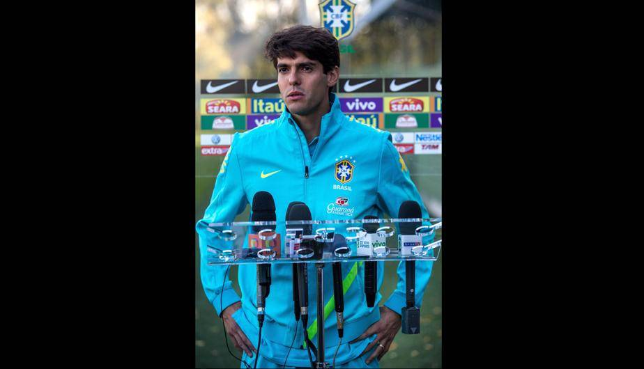 Kak&aacute; volvi&oacute; a entrenar con Brasil, tras dos largos a&ntilde;os (FOTOS) 