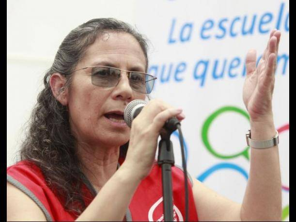 Patricia Salas: Se descontar&aacute; a los maestros que no recuperen clases