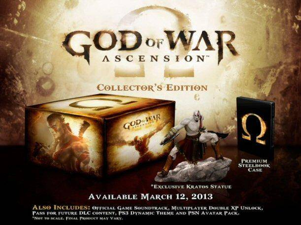 God of War: Ascension tendrá una edición de colección