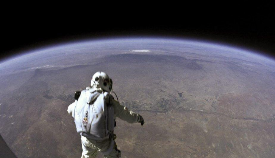 As&iacute; mir&oacute; Felix Baumgartner a la Tierra desde la estrat&oacute;sfera  (FOTOS)