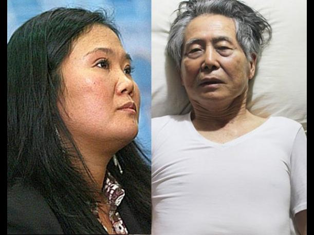 Keiko Fujimori: Lamento que la foto de Alberto Fujimori se haya hecho p&uacute;blica (VIDEO)