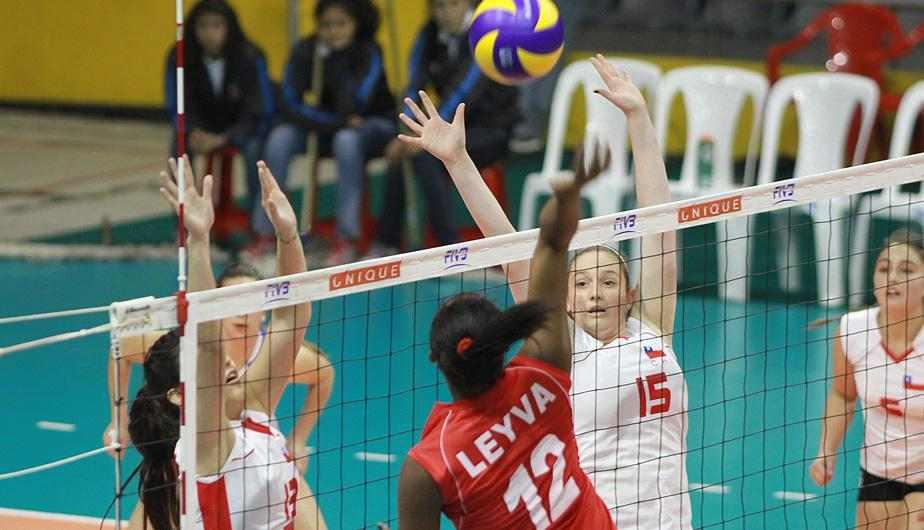 Per&uacute; sufri&oacute; para ganar a Chile en el Sudamericano Juvenil de V&oacute;ley (FOTOS)