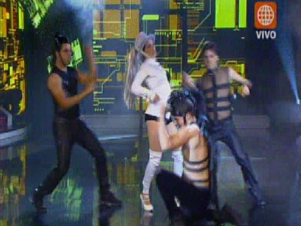 El Gran Show: Daniela Sarfaty  presenta coreograf&iacute;a electropop