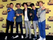 One Direction logra el premio MTV EMA 2012