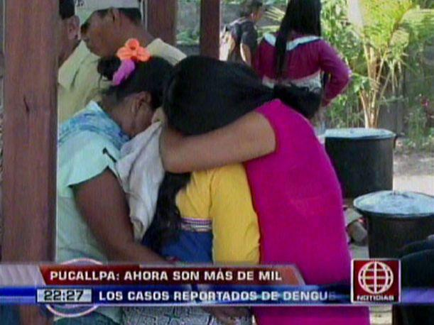 Pucallpa: Reportan más mil casos de emergencia por dengue (VIDEO)