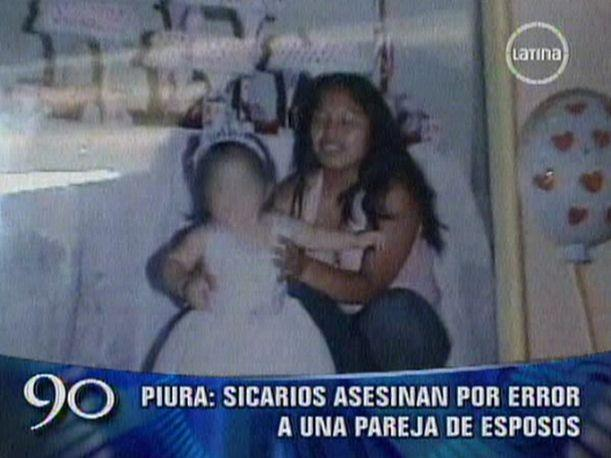 Piura: Sicarios acribillan por error a una pareja de esposos (VIDEO)