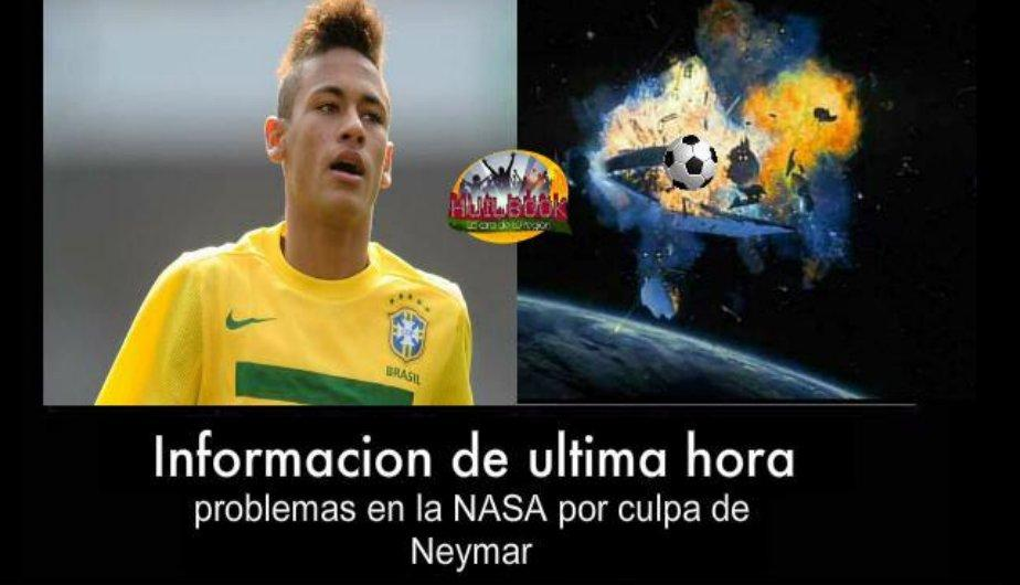 Neymar es blanco de burlas a trav&eacute;s de &#039;Memes&#039; (FOTOS)