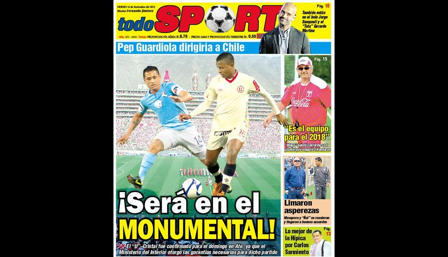 Kiosko Deportivo: Ya se vive el Universitario vs. Sporting Cristal (FOTOS)