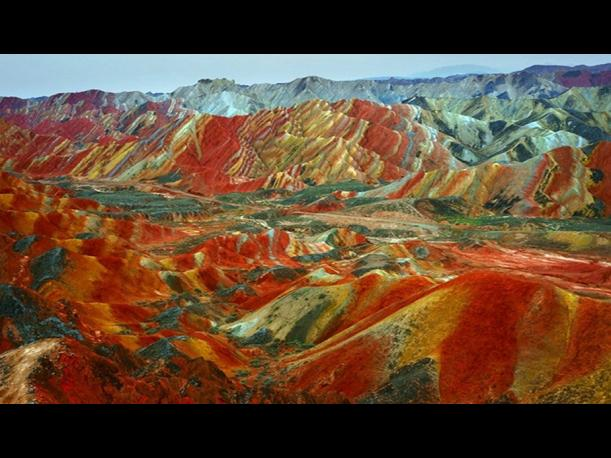 Zhangye, China. (Foto: Pijamasurf.com)