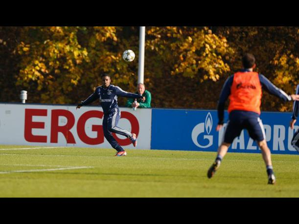 Jefferson Farfán entrena pensando en la Champions League (FOTOS)