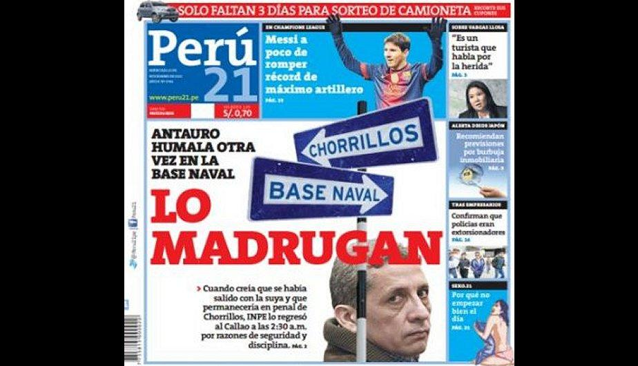 Perú 21. (Foto: Captura)