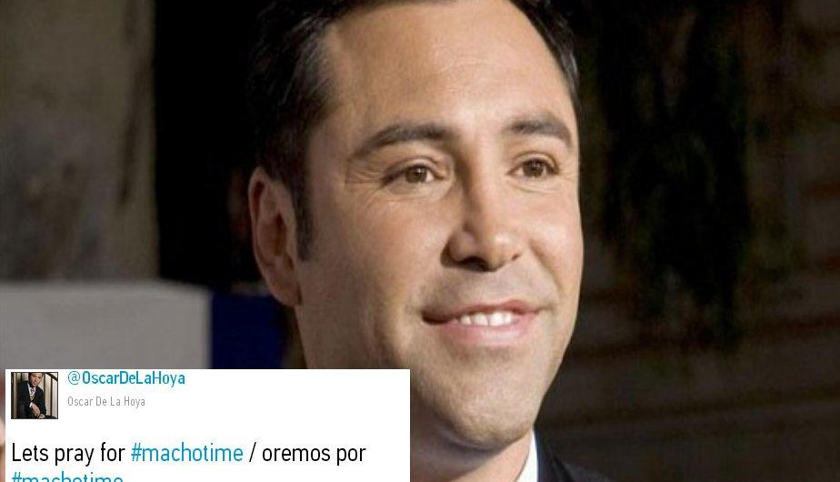Oscar de la Hoya consternado con la noticia. (EFE/Captura)