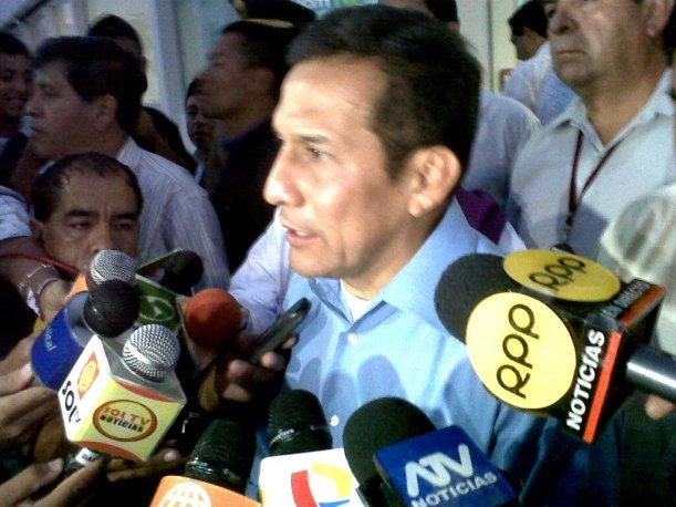 Ollanta Humala felicita a universidades que marcharon en contra del terrorismo