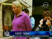 Caso La Parada: Capturan a travesti 'Kika' por saqueo en Gamarra (VIDEO)