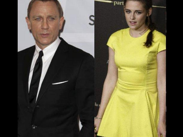 Daniel Craig a Kristen Stewart: &quot;Ella no ser&iacute;a un chica Bond, porque est&aacute; en Crep&uacute;sculo&quot;