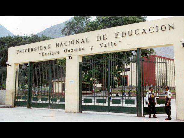 51. Universidad Nacional de Educación Enrique Guzmán y Valle. (Foto: Oocities.org)