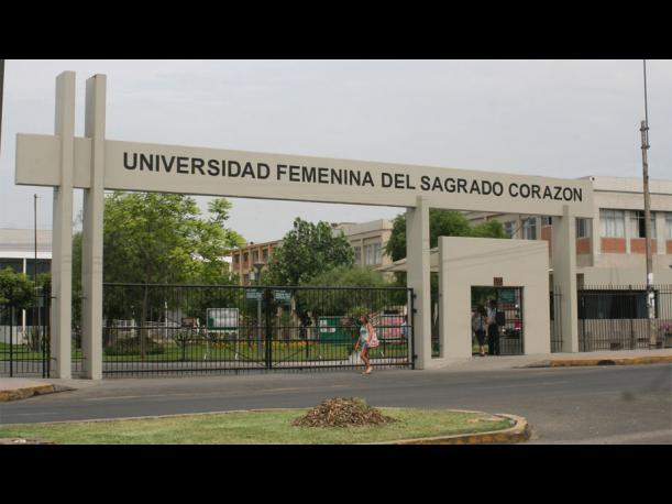 54. Universidad Femenina del Sagrado Corazón. (Foto: Chamilo.unife.edu.pe)