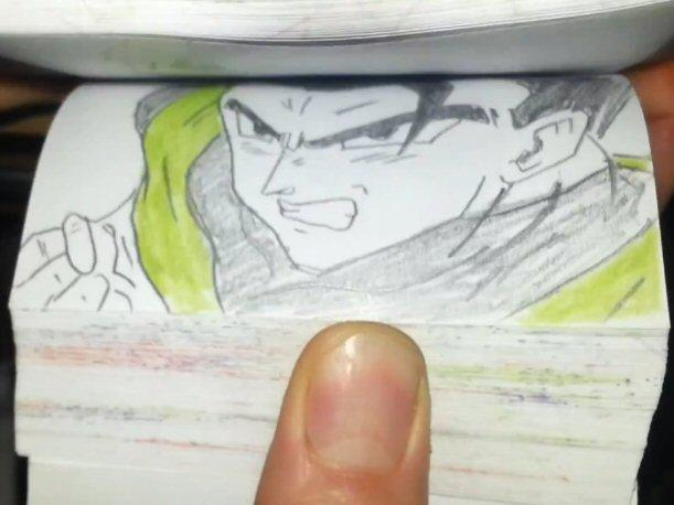 Dragon Ball Flipbook, realmente alucinante (VIDEO)